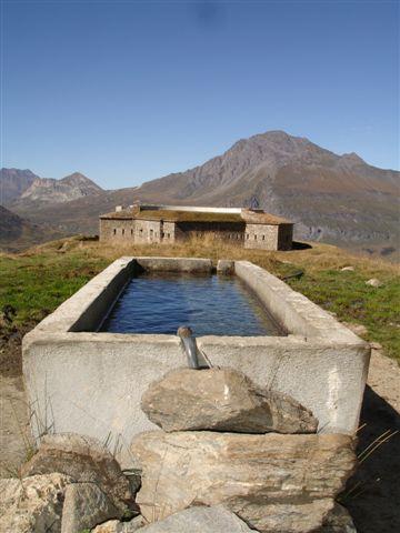 Fontaine au Mont Cenis