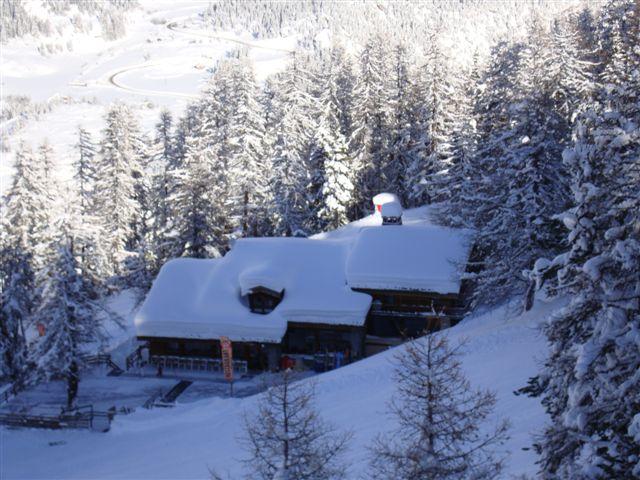 Noël 2008 Restaurant d`altitude de la Féma....