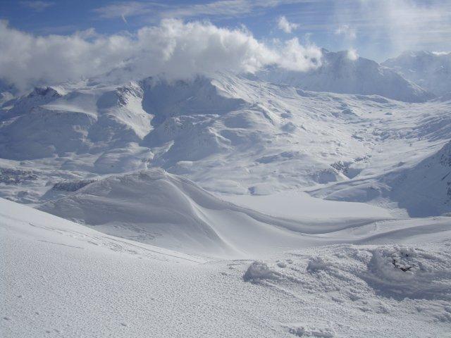 Mars 2011 vue sur le Mt Cenis